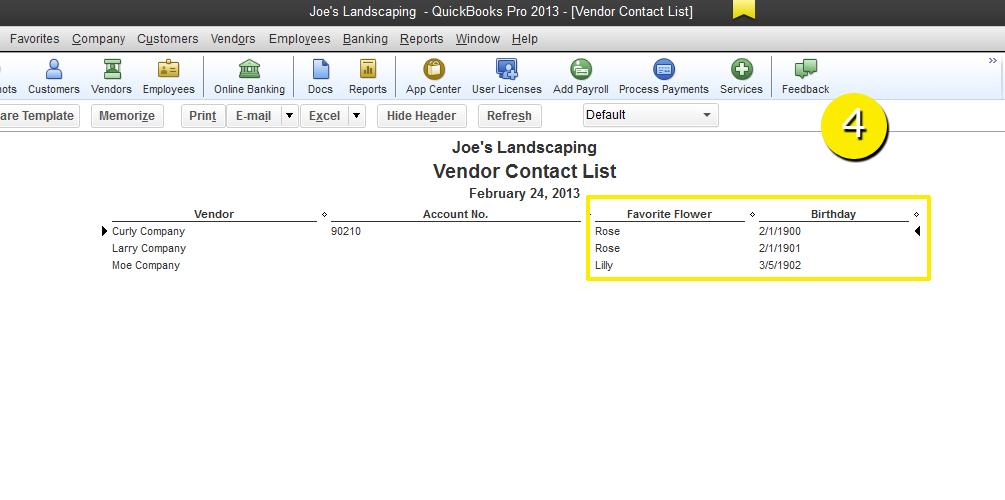 How to write custom reports in quickbooks