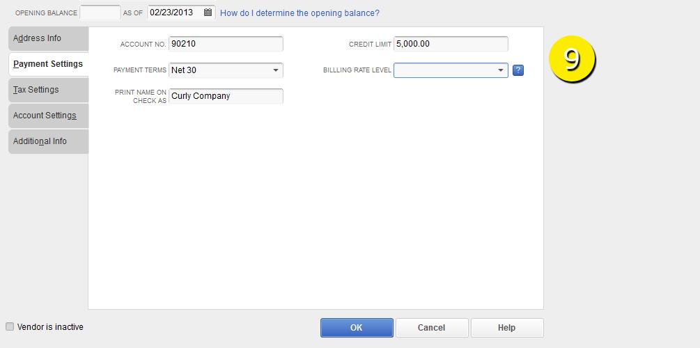 L3-2 -New Vendor - Step 9 - Payments Entered - Free QuickBooks Tutorials