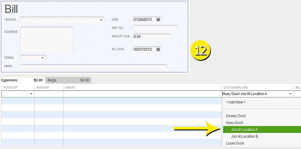 L8 - Create A New Job - Step 12 - Select Job to Bill