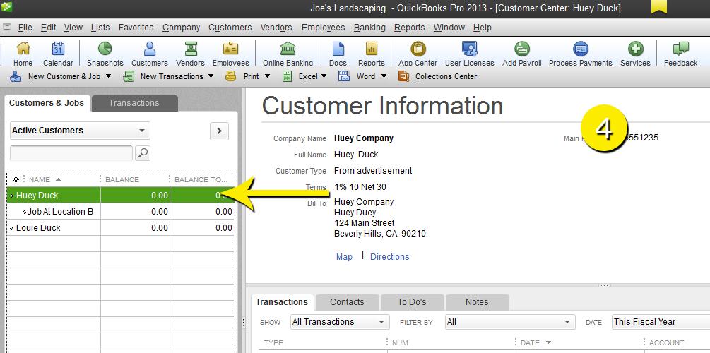 L9 - Delete A Customer - Step 4 - Deleted - Free QuickBooks Tutorials