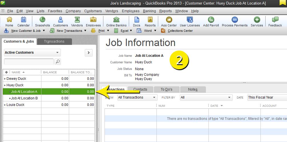 L9 - Delete A Job - Step 2 - Select The Job to Delete