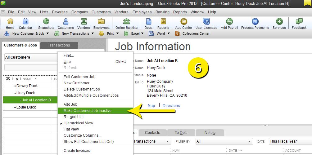 L9 - Delete A Job - Step 6 - Right Click
